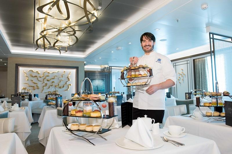 P&O Cruises Afternoon Tea with Eric Lanlard