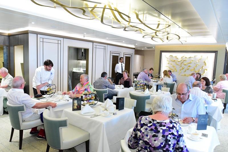 Afternoon Tea on board P&O Cruises Britannia with Eric Lanlard