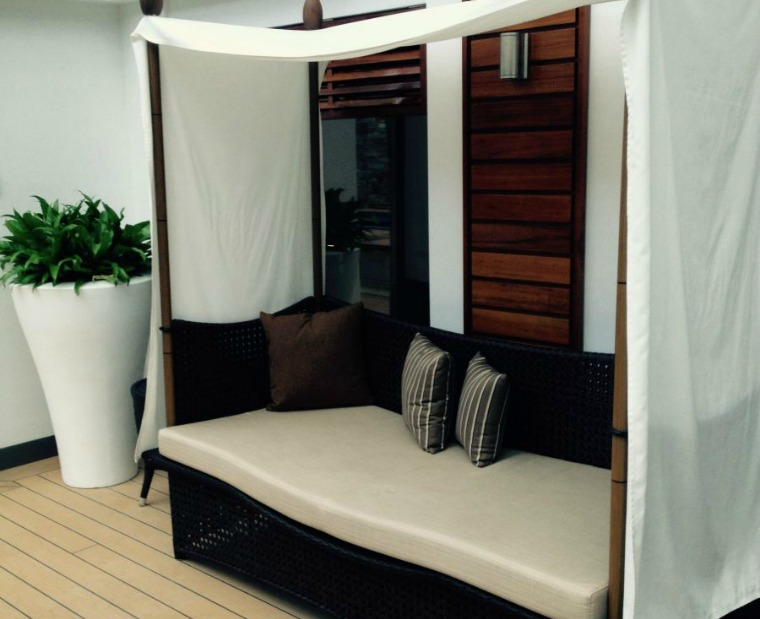 Cosy cabana in The Haven