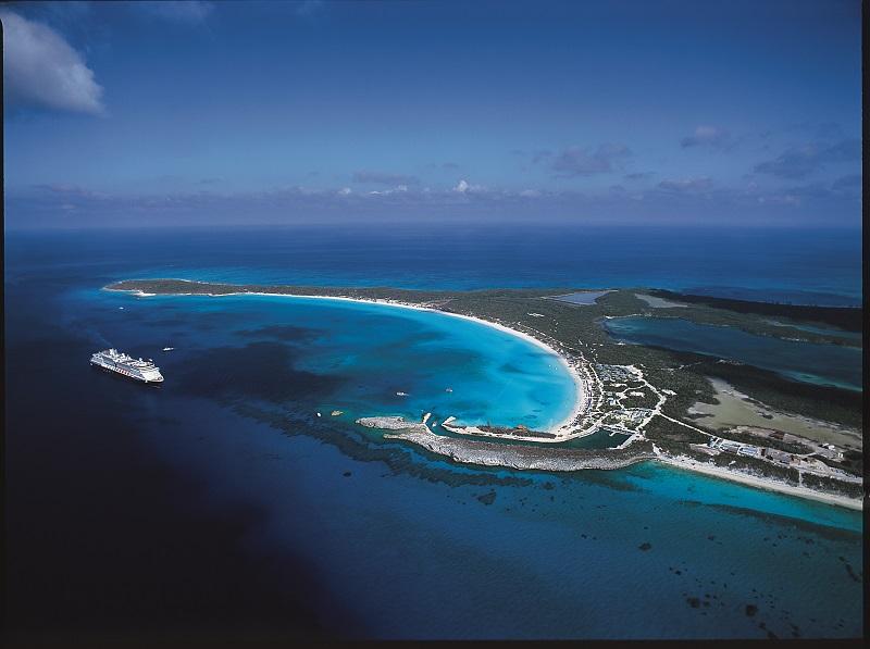 Half Moon Cay, Holland America Line private island