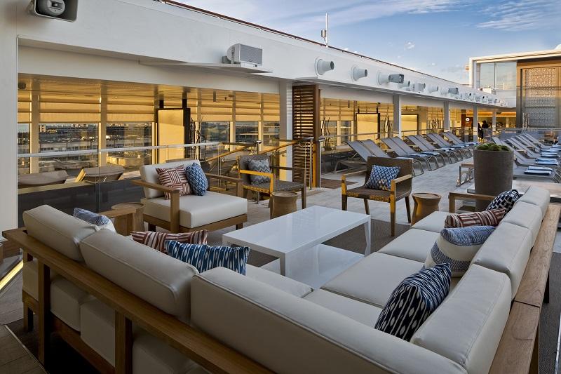 Viking Ocean Cruises Main Pool