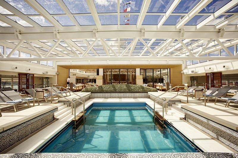 Viking Star Main Pool Roof Closed
