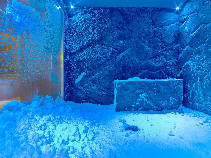 Viking Star Spa Snow Room