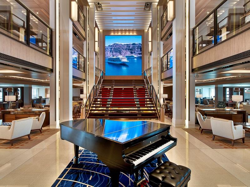 Viking Ocean Ship Atrium