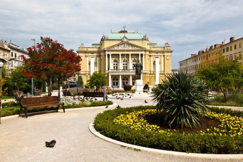 Kasalisni Park, Rijeka, Croatia