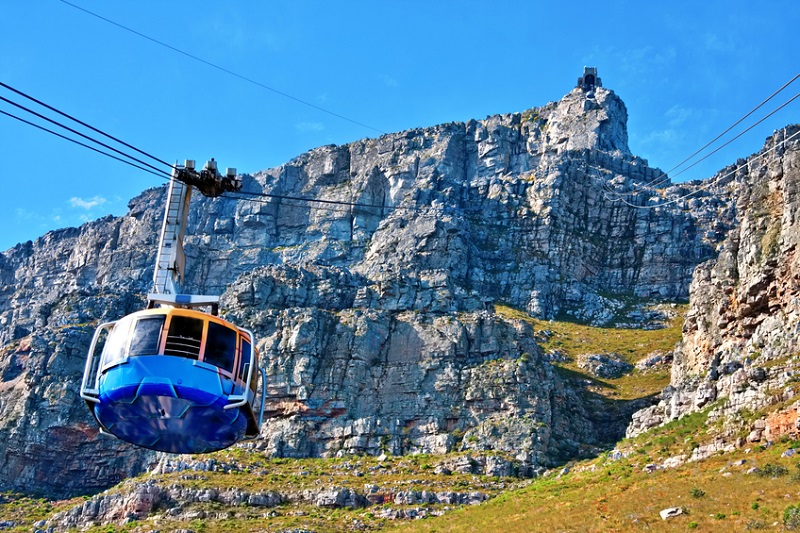 Table Mountain and Cable Way
