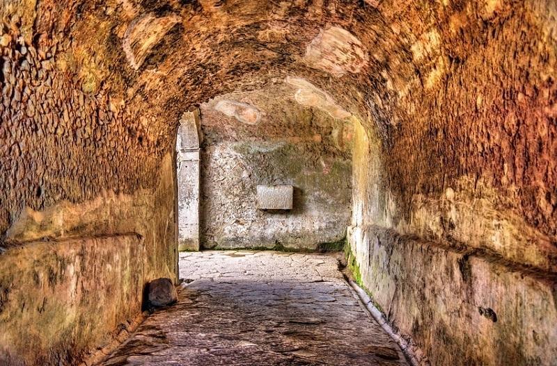 The Amphitheatre of Pompeii - Italy