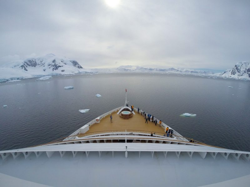 Seaborun Quest in the Antarctica
