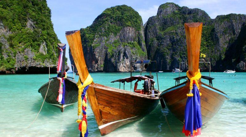 ong Boats, The Beach, Phuket, Thailand