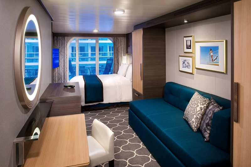 Central Park View Stateroom with Balcony, Harmony of the Seas