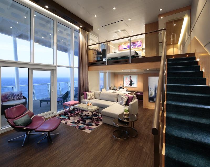 Sky Loft Suite with balcony, Harmony of the Seas