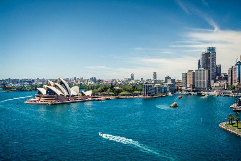 View of Sydney Harbour, Australia