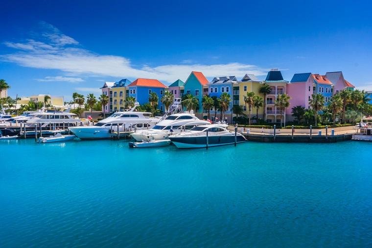Paradise Island in Nassau, Bahamas.