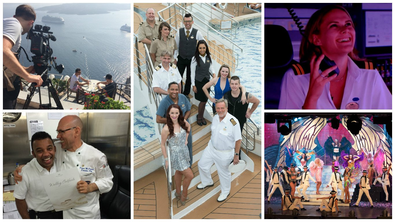 Princess Cruises, The Cruise