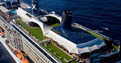 Celebrity Solstice - Aerial at Sea Miami Shoreline