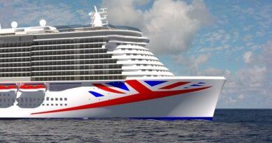 P&O Cruises new ship