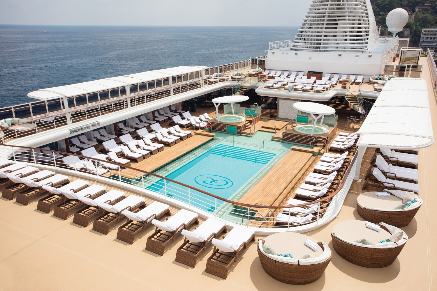 Seven Seas Explorer Pool Deck