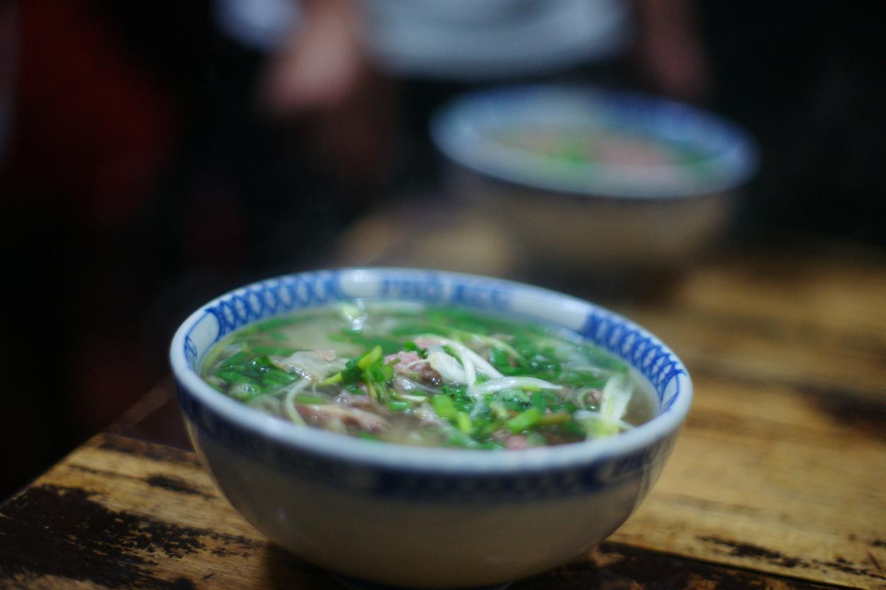 Beef Pho Soup, Asian Noodles