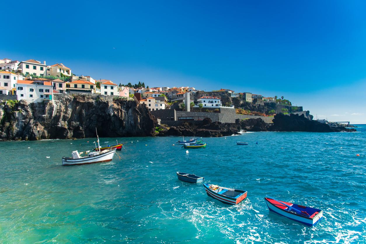 Camara de Lobos, Fishermen's village, Madeira