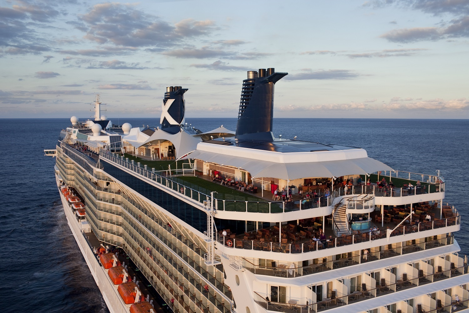 Aerial Celebrity Eclipse