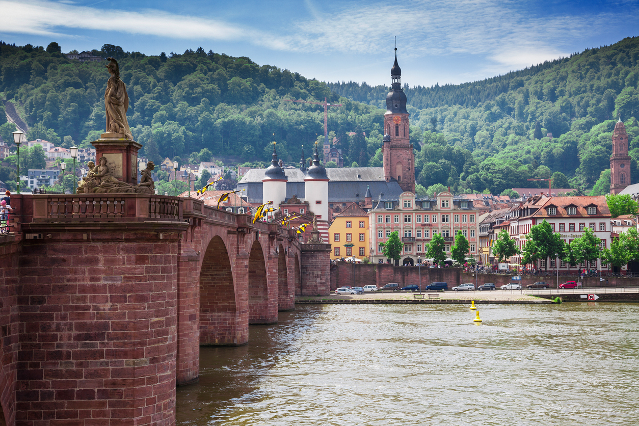 Heidelberg in Germany on the Neckar