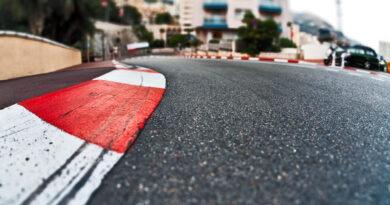 Formula 1 line at Monaco.