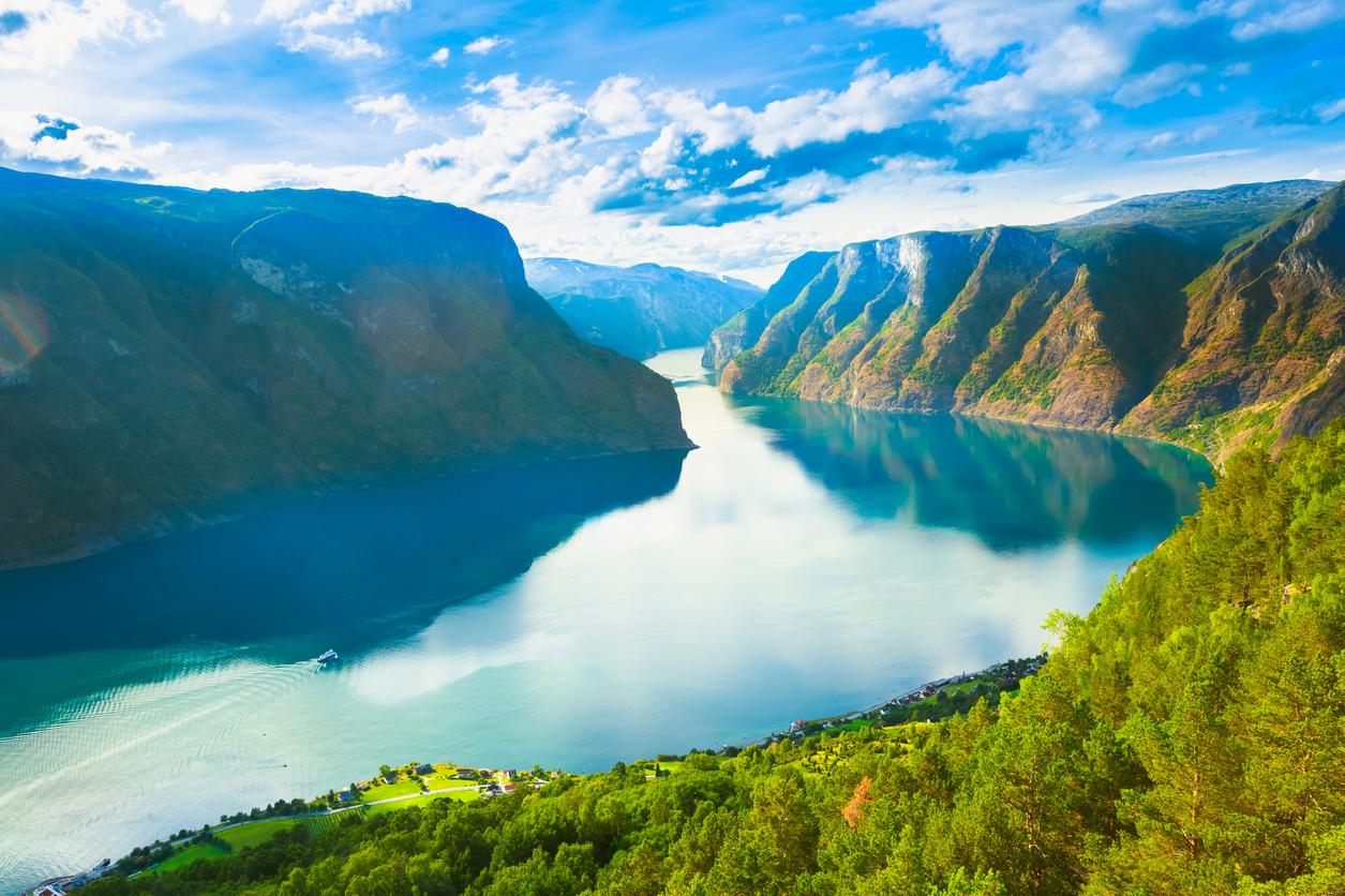Norwegian Fjords, Summer Sognefjord