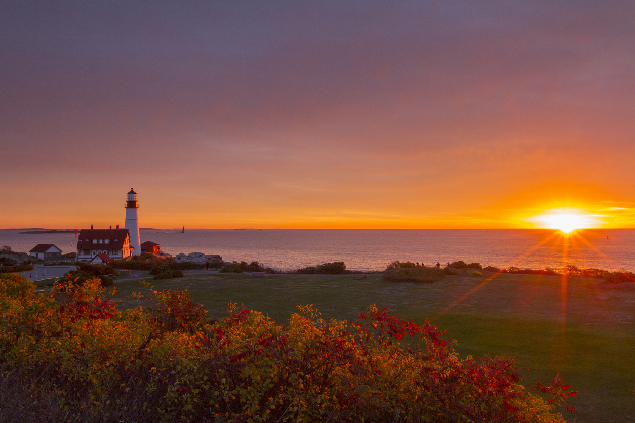 Cape Elizabeth is the home of Portland Head Light. Situated along the spectacular shores of Fort Williams Park, at 1000 Shore Road,