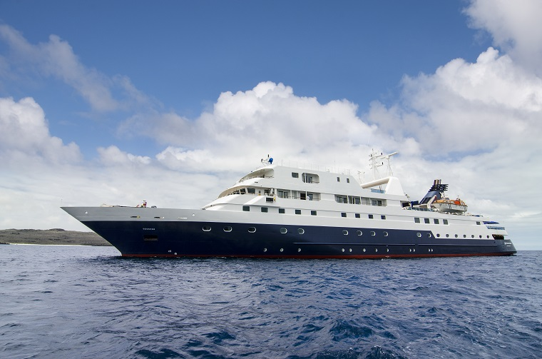 Celebrity Xpedition, Xpedition, XP, Galapagos Islands, ship exterior