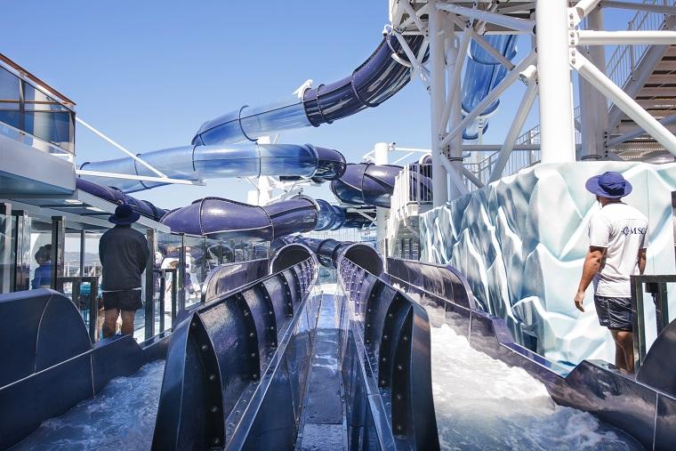 MSC Meraviglia, Polar Aquapark