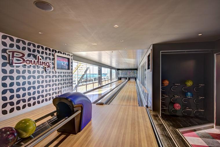 MSC Meraviglia, bowling