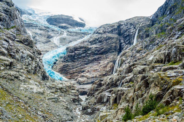 Briksdal Glacier, Norway, Norwegian glacier
