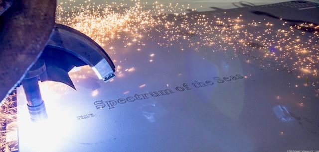 Steel-Cutting Spectrum of the Seas