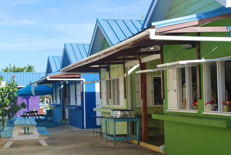 Oistin Kiosks, Barbados, Oistins Fish Fry